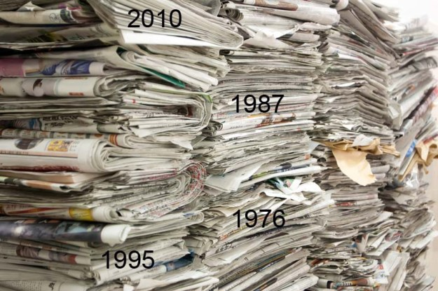NewspaperStack